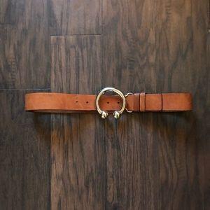 Silpada genuine leather belt size small